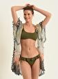 Morhipo Beach Morhipo Beach Askılı Straplez Kadın Bikini Haki